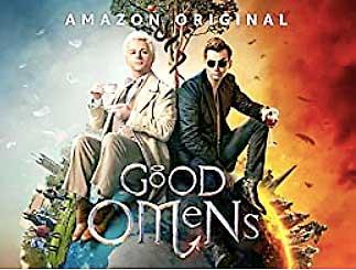 グッド・オーメンズ、天使アジラフェルと悪魔クロウリーがアルマゲドンを阻止しようと奔走だか邪魔だか分からないけど友情を剥ぐ軍荼利するユーモアとシニカルなドラマ